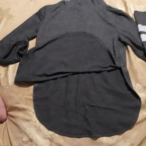 PINK Victoria's Secret Tops - PINK- hooded long sleeve